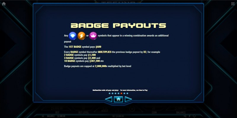 Techno Tumble :: Badge Payouts
