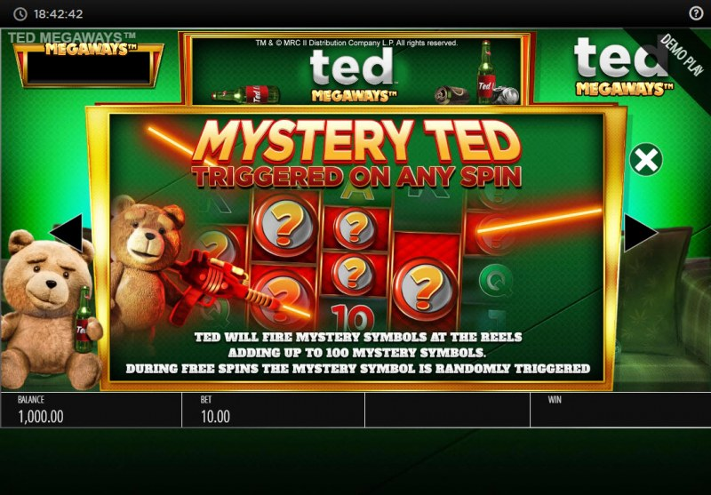 Ted Megaways :: Mystery Feature