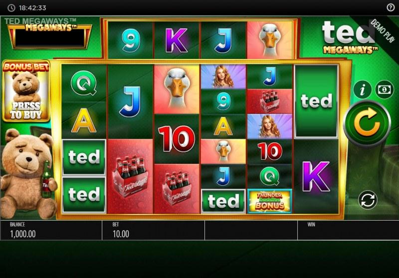 Ted Megaways :: Main Game Board