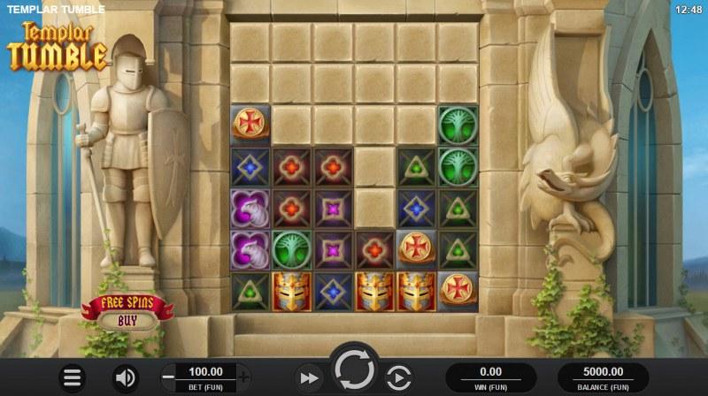 Templar Tumble :: Main Game Board