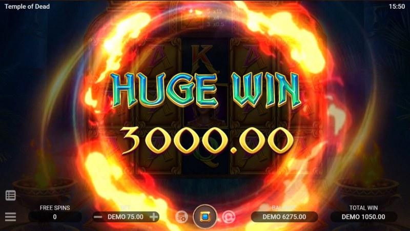 Temple of Dead :: Huge Win