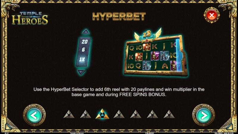 Temple of Heroes :: Hyperbet