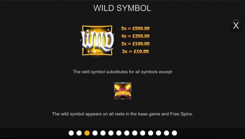 Temple of Light :: Wild Symbol Rules