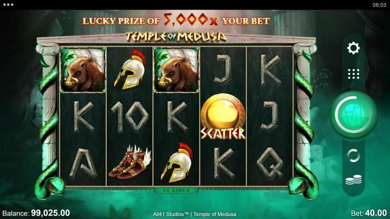 Temple of Medusa :: Main Game Board