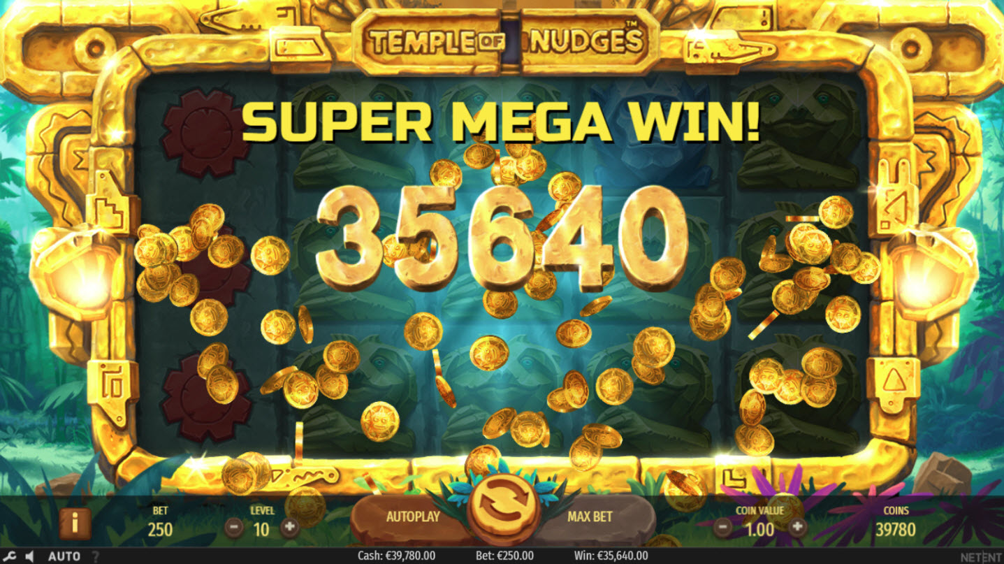 Play slots at Wixstars: Wixstars featuring the Video Slots Temple of Nudges with a maximum payout of $546,750