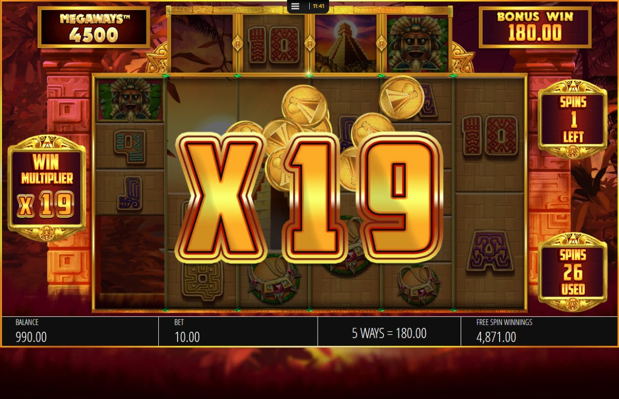 Play slots at Yako Casino: Yako Casino featuring the Video Slots Temple of Treasure Megaways with a maximum payout of $250,000