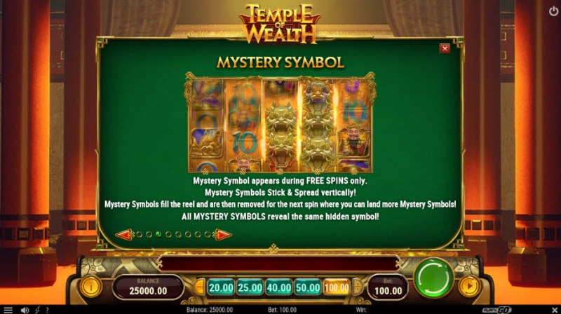 Temple of Wealth :: Mystery Symbol