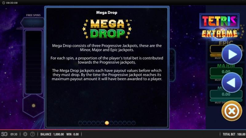 Tetris Extreme :: Mega Drop Rules