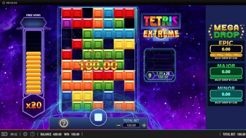 Tetris Extreme :: A winning cluster