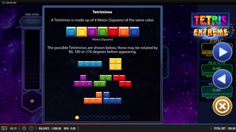 Tetris Extreme :: How To Play