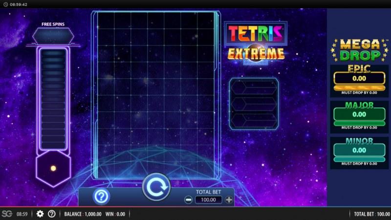 Tetris Extreme :: Main Game Board