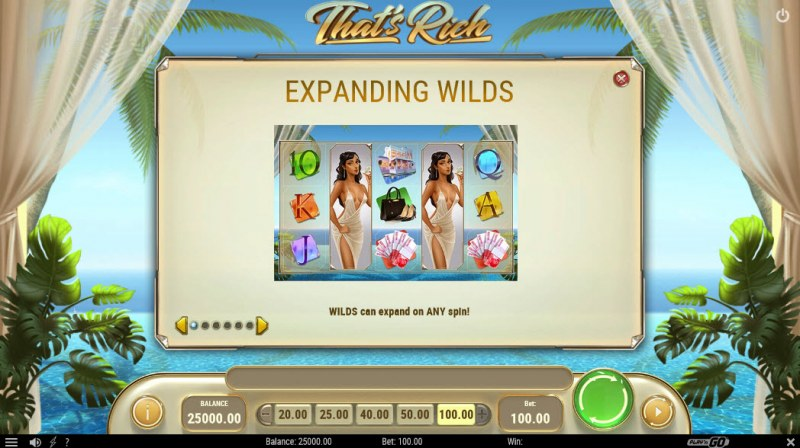 That's Rich :: Wild Symbols Rules