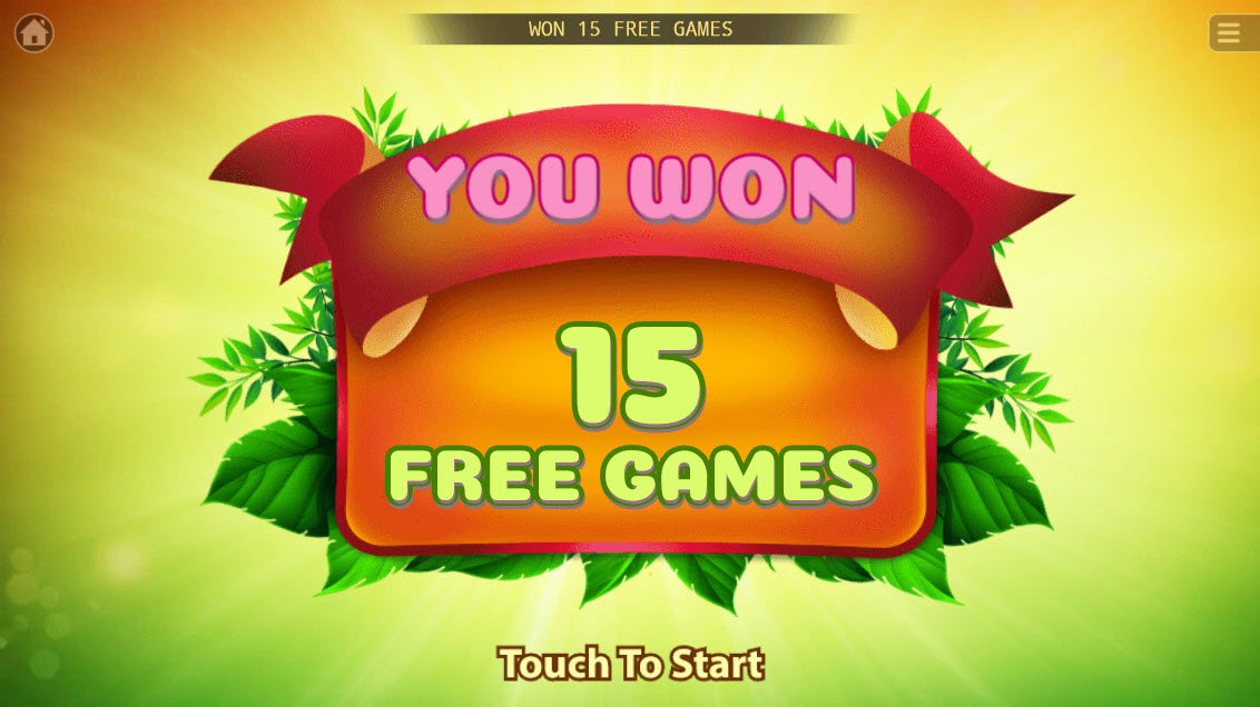 The Apes :: 15 Free Spins Awarded