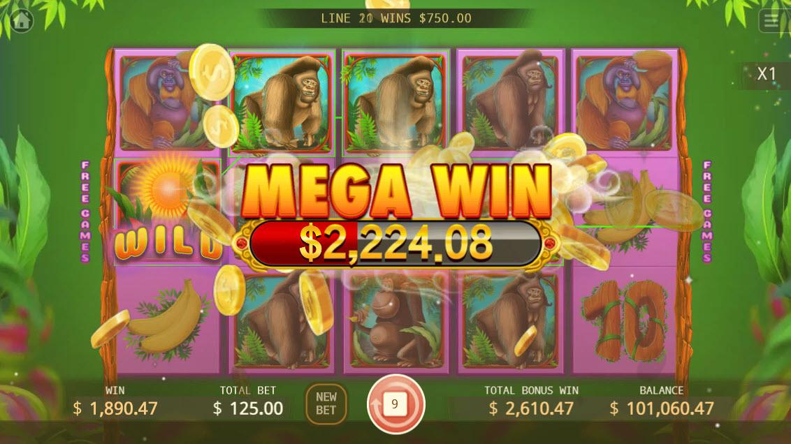 The Apes :: Mega Win