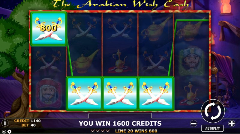 The Arabian Wish Cash :: Four of a kind