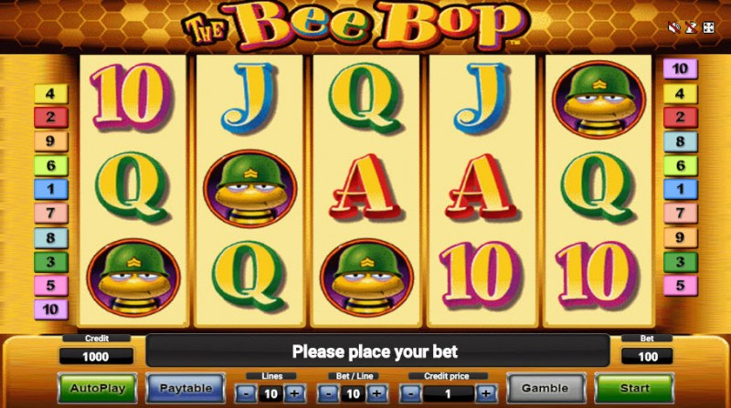 The Bee Bop :: Main Game Board