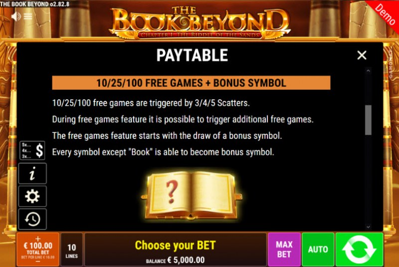 The Book Beyond The Riddle of the Sands :: Free Spins Rules