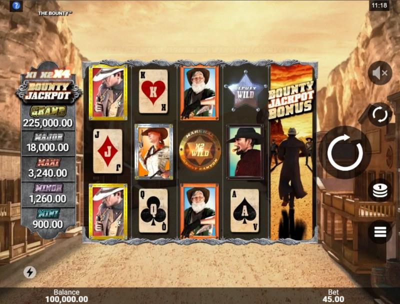 The Bounty :: Main Game Board