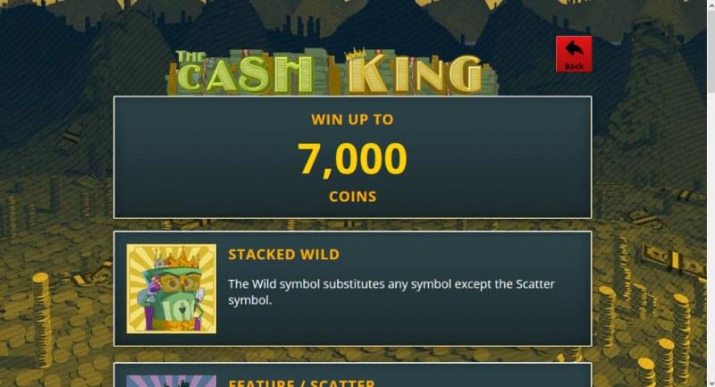 The Cash King :: Wild Symbols Rules