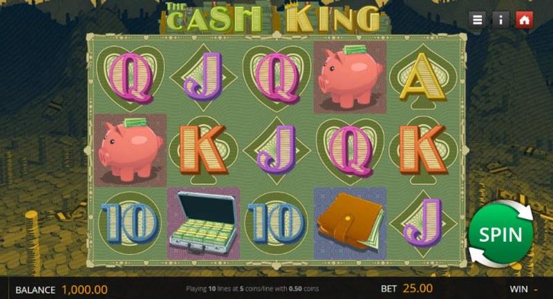 The Cash King :: Main Game Board