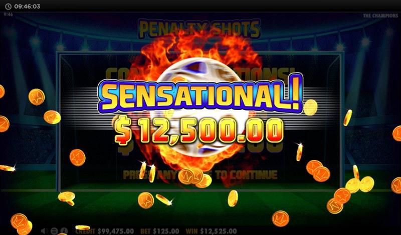 The Champions :: Total bonus payout