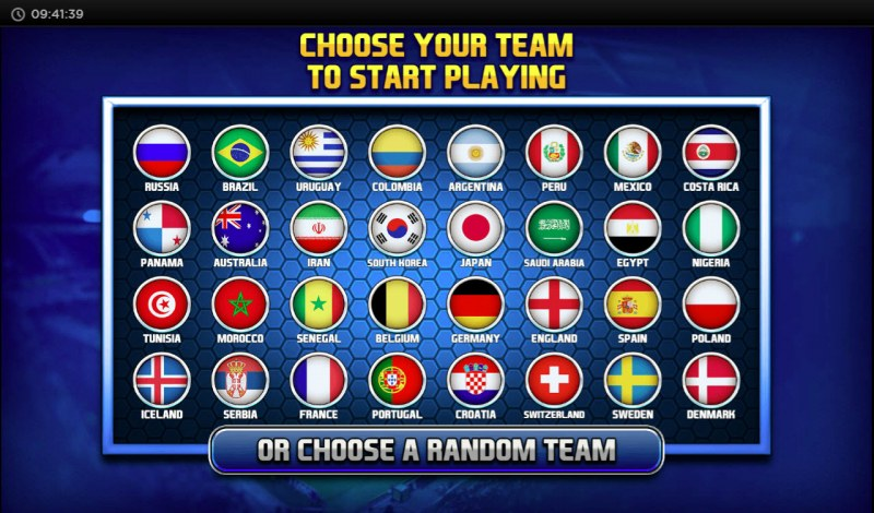 The Champions :: Choose your team