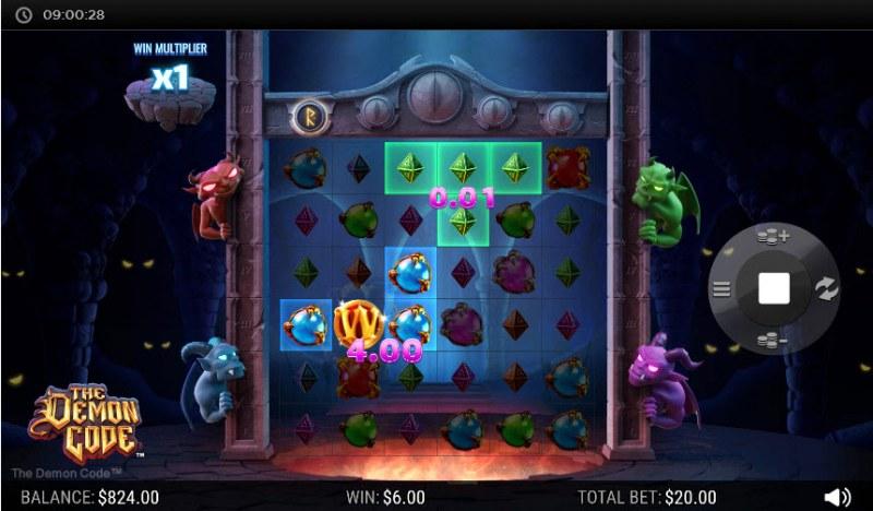 The Demon Code :: Multiple winning combinations