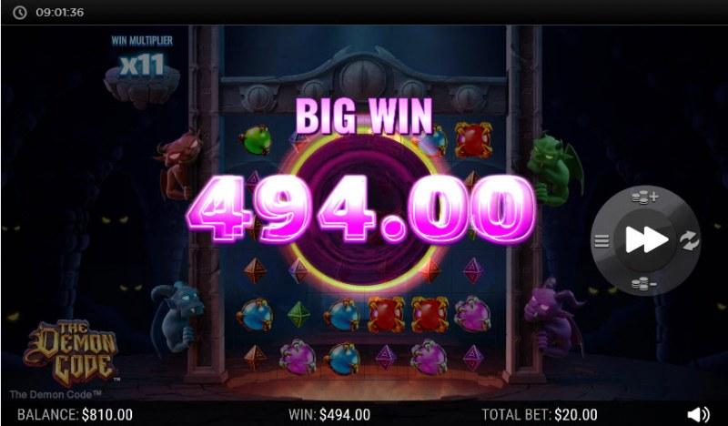 The Demon Code :: Big Win
