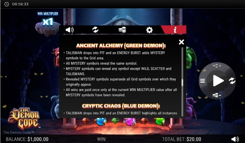 The Demon Code :: Ancient Alchemy