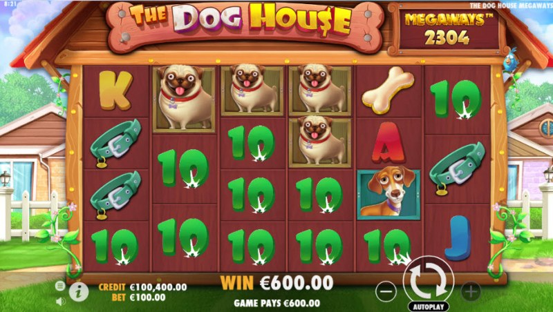 The Dog House Megaways :: Multiple winning combinations