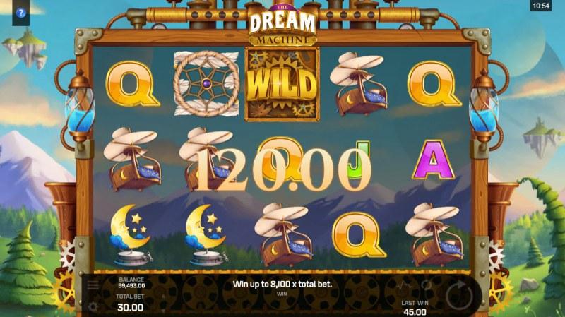 The Dream Machine :: A pair of winning paylines