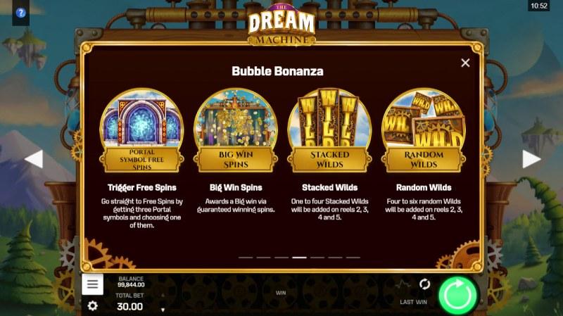 The Dream Machine :: Bubble Bonanza