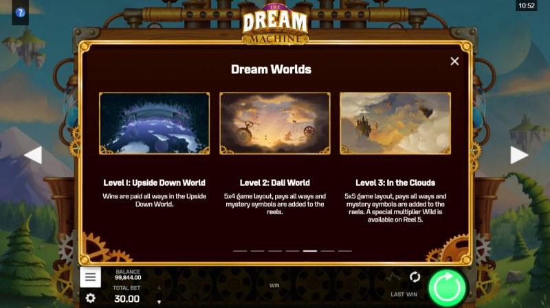 The Dream Machine :: Dream Worlds