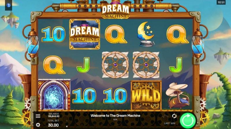 The Dream Machine :: Base Game Screen