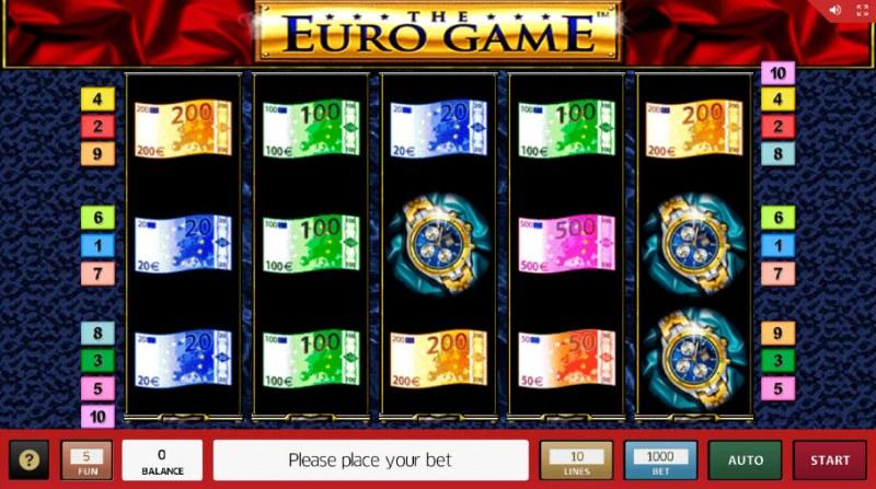 The Euro Game :: Main Game Board