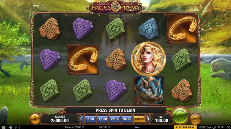 The Faces of Freya :: Main Game Board
