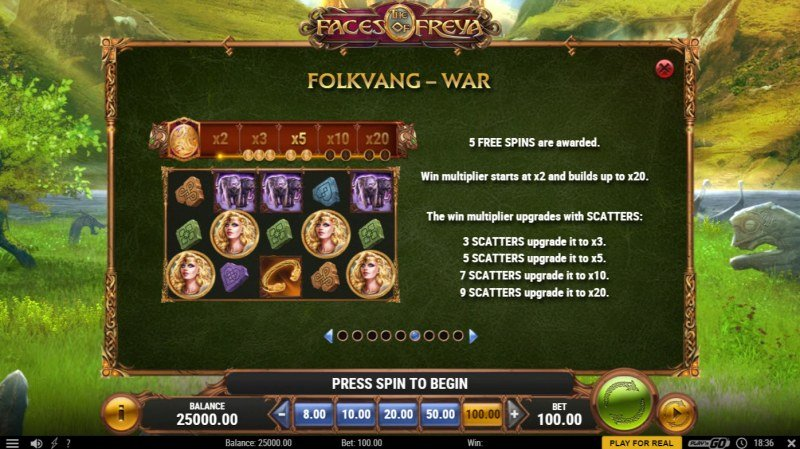 The Faces of Freya :: War Feature