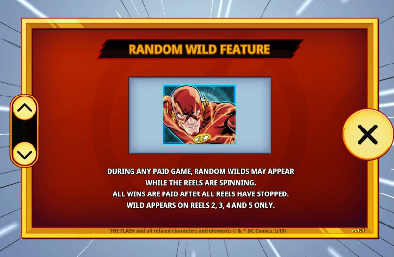 The Flash :: Random Wild Feature