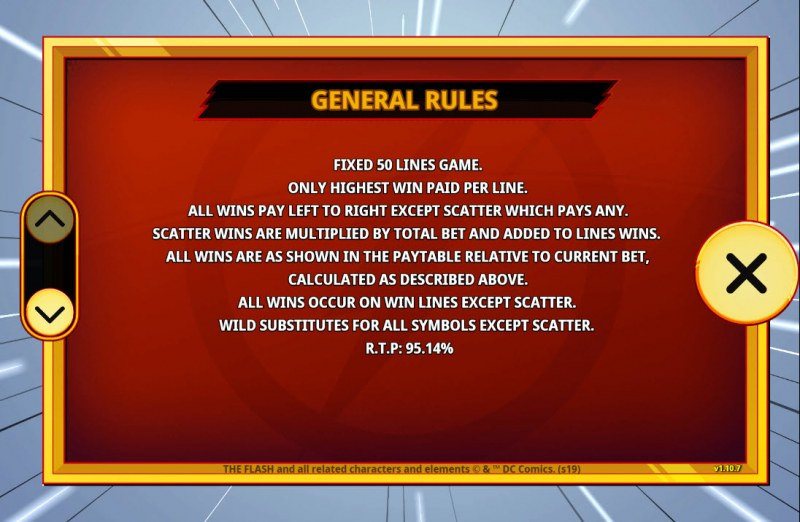 The Flash :: General Game Rules