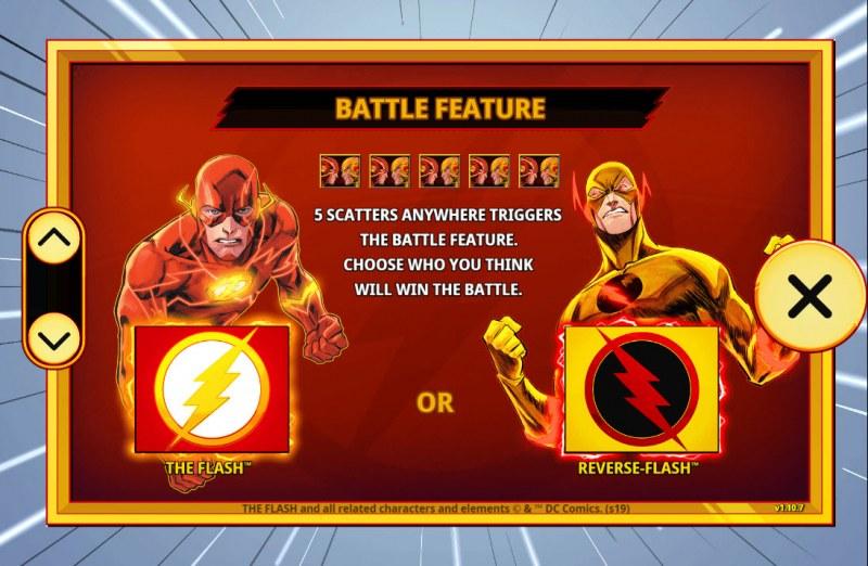 The Flash :: Battle Feature