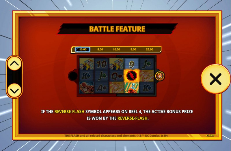 The Flash :: Feature Rules