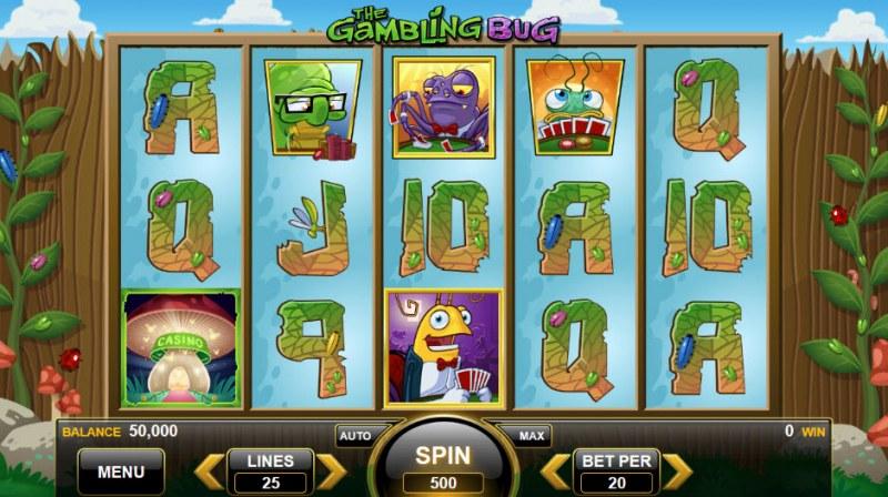 The Gambling Bug :: Main Game Board