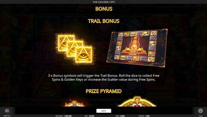 The Golden City :: Bonus Game Rules