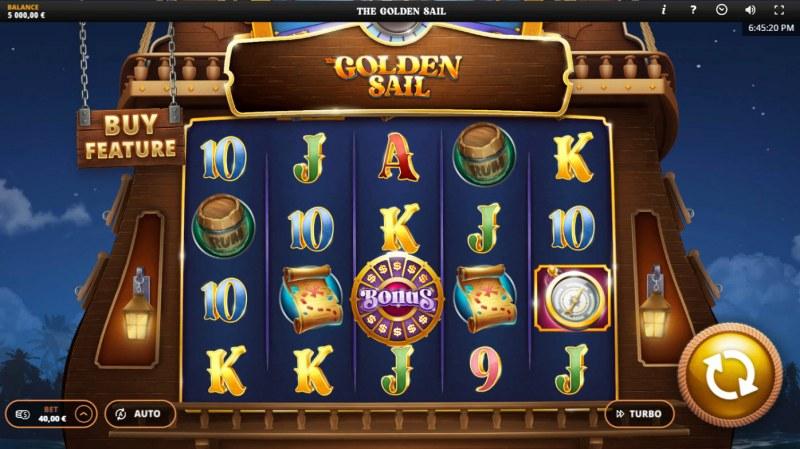 The Golden Sail :: Main Game Board
