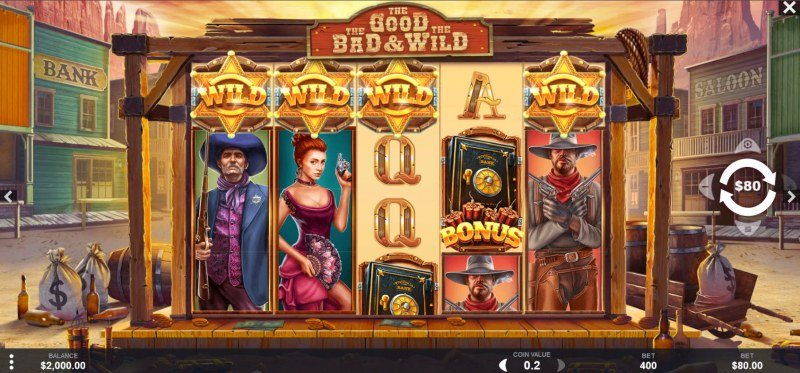 The Good The Bad and the Wild :: Main Game Board