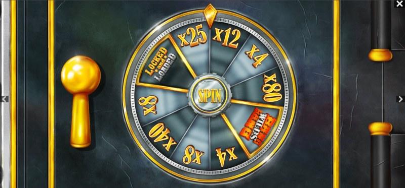The Good The Bad and the Wild :: Bonus Wheel