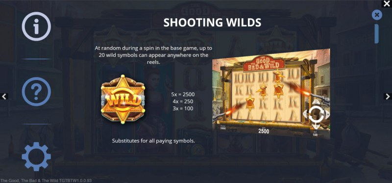 The Good The Bad and the Wild :: Shooting Wilds Feature