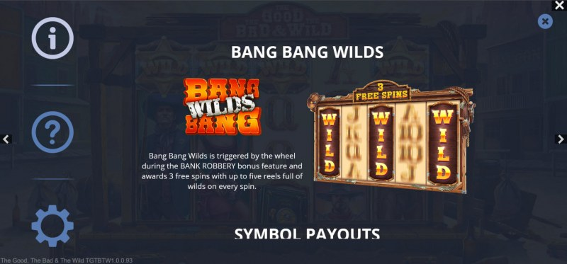 The Good The Bad and the Wild :: Free Spin Feature Rules