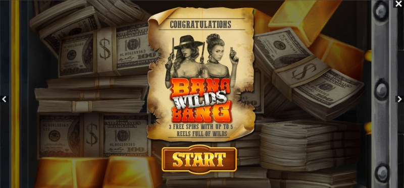 The Good The Bad and the Wild :: Free Spins Awarded