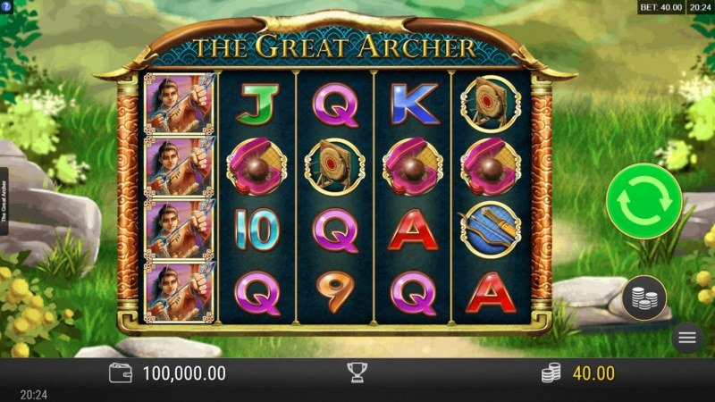 Play slots at Sin Spins: Sin Spins featuring the Video Slots The Great Archer with a maximum payout of $10,800